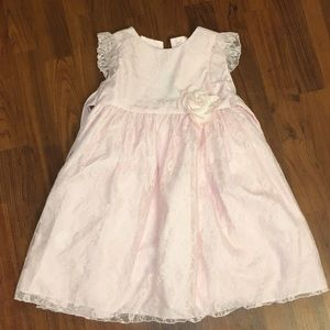 Other - Light pink sparkly lace dress